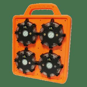 Sinalizador de Emergencia Raclite Octopus Mineração Rodovia Ferrovia e Tuneis
